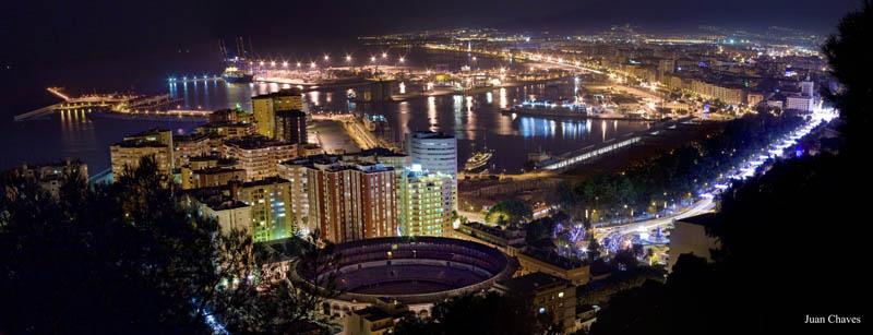 malaga spain skyline aerial 25 Stunning Skylines Around the World
