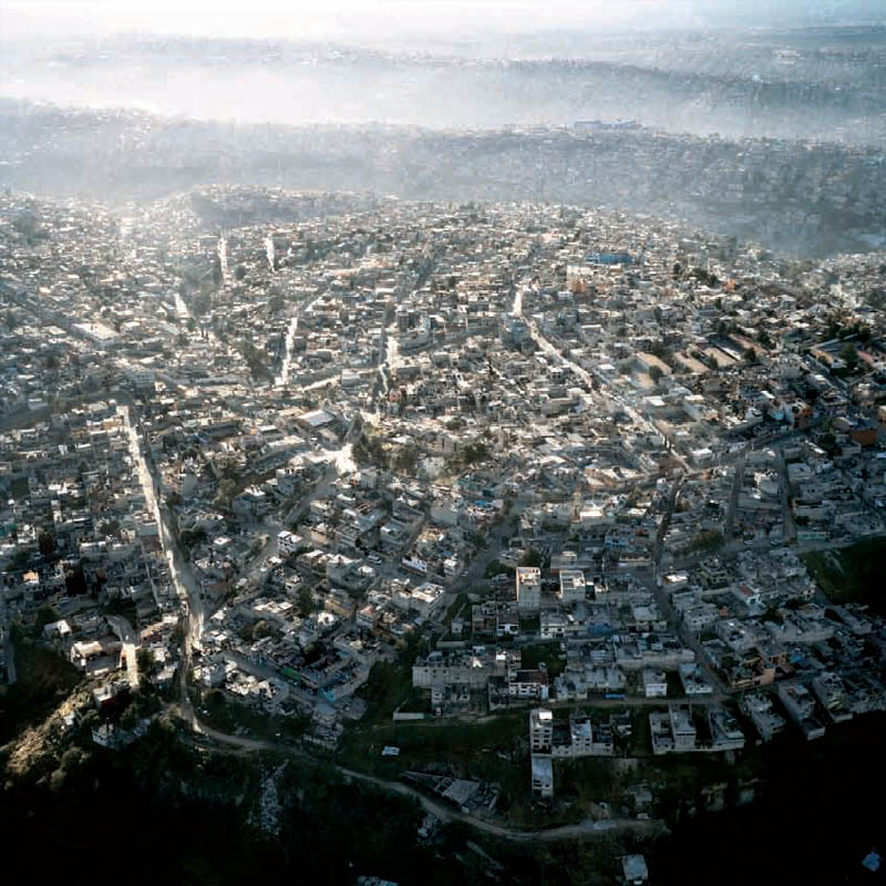 mexico city aerial sprawl Picture of the Day: Mexico City from Above