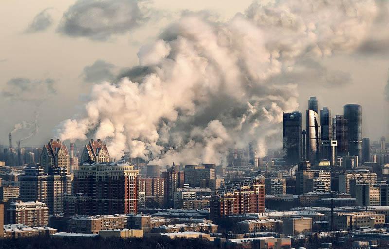 moscow russia skyline aerial 25 Stunning Skylines Around the World