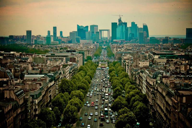 paris skyline aerial 25 Stunning Skylines Around the World