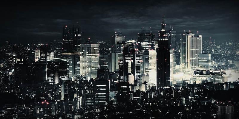 tokyo japan skyline aerial 25 Stunning Skylines Around the World