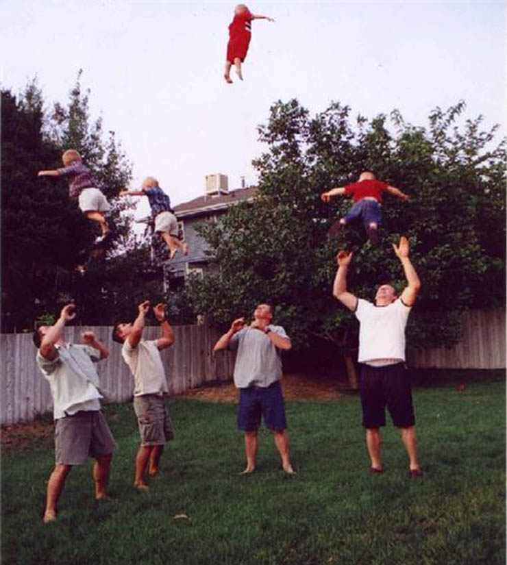 tossing baby really high in the air The Friday Shirk Report   Volume 101