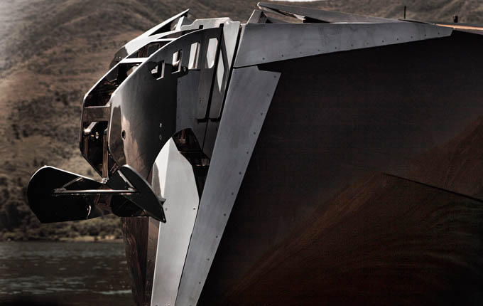 wooden yacht hedonist art of kinetik 20 The Worlds Sexiest Wooden Yacht [32 pics]