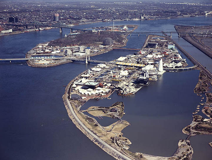 aerial view of whole expo 67 site This Day In History   April 27th