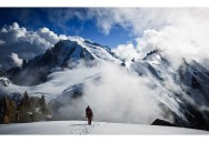 Picture of the Day: Man Versus Mountain