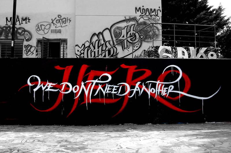 calligraffiti greg papagrigoriou street art calligraphy 10 Calligraffiti by Greg Papagrigoriou [25 pics]