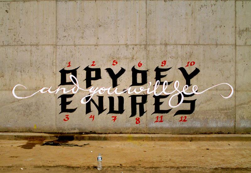 calligraffiti greg papagrigoriou street art calligraphy 12 Calligraffiti by Greg Papagrigoriou [25 pics]