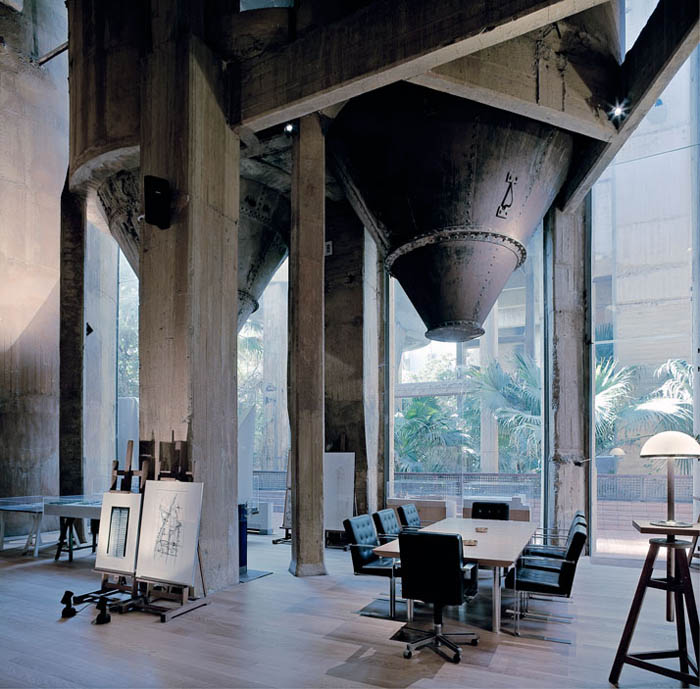 cement factory conversion ricardo bofill barcelona spain 25 Belgium Water Tower Converted into Single Family Home