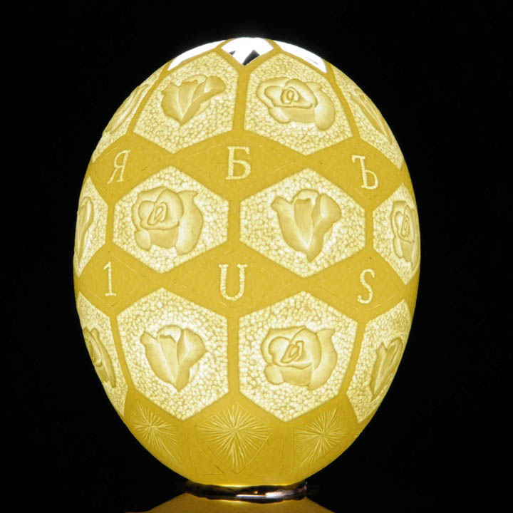 intricate egg art carvings brian baity 3 Intricate Egg Art by Brian Baity [30 pics]