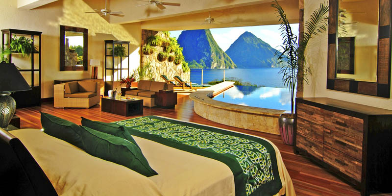 jade mountain st lucia infinity pool every room 16 Hotel de Glace: North Americas Only Ice Hotel