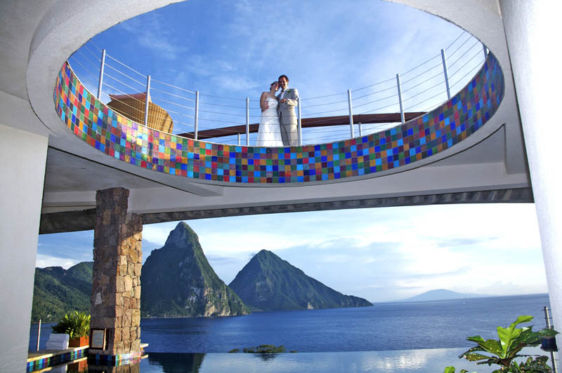 jade mountain st lucia infinity pool every room 17 Jade Mountain: Where All Rooms Have Infinity Pools