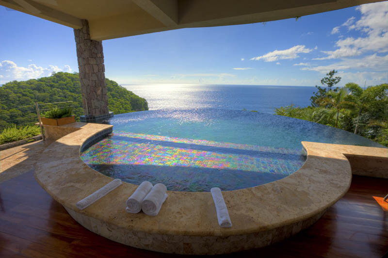jade mountain st lucia infinity pool every room 21 Jade Mountain: Where All Rooms Have Infinity Pools