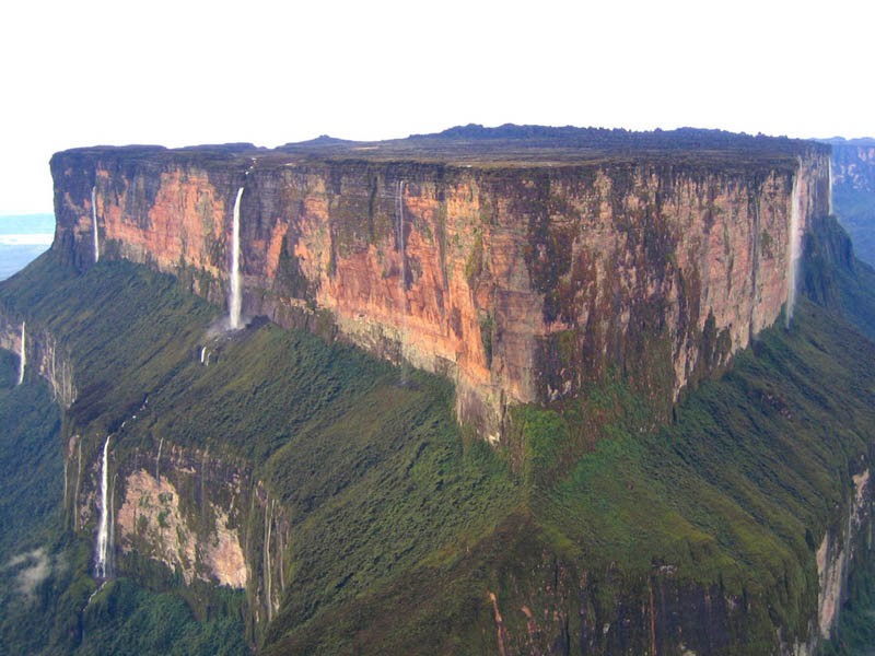 mount roraima Picture of the Day: Mt. Roraima 2 Billion Years in the Making