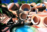 Pierre Cardin's Bubble House 'Palais Bulles' by Antti Lovag