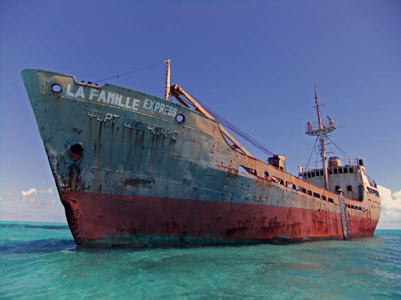 shipwreck turcs and caicos Forgotten Monuments from the former Yugoslavia