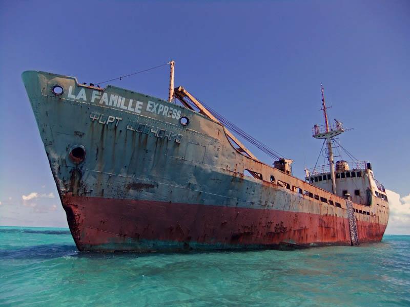 shipwreck turcs and caicos 20 Impressive Moats Around the World