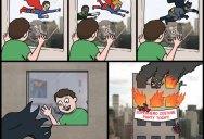 Super-Heroes [Comic Strip]