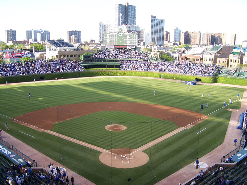 wrigley field chicago cubs baseball stadium This Day In History   April 20th