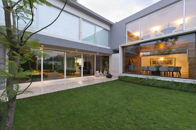 ae house twentyfourseven mexico city inward facing design 19 Gorgeous Inward Facing Home in Mexico City [30 pics]