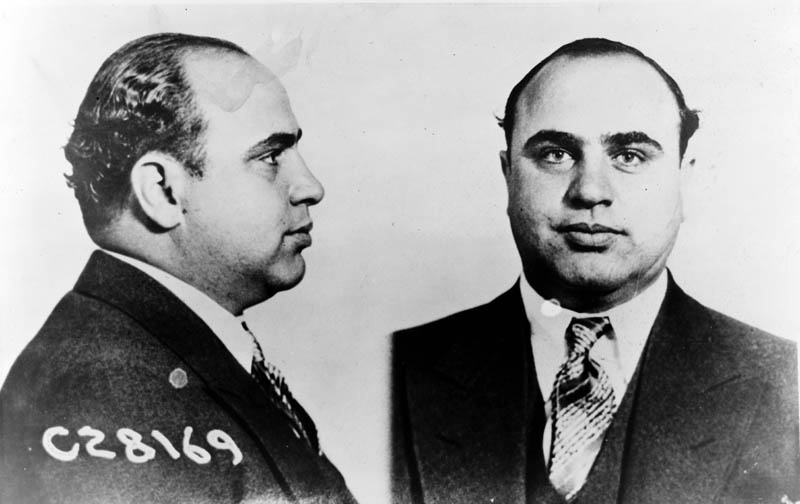 al capone mugshot This Day In History   May 4th