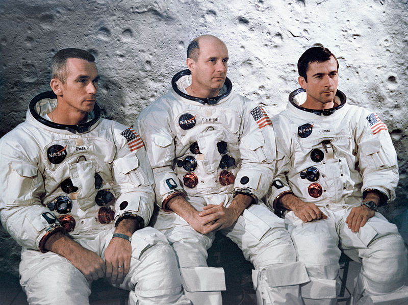 apollo 10 crew eugene a cernan thomas p stafford john w young This Day In History   May 18th