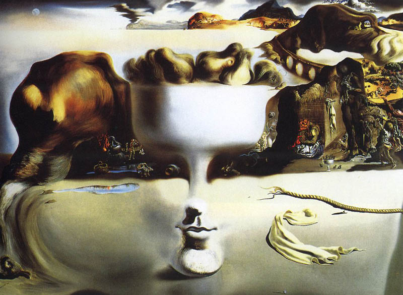 apparition of face and vase on a beach 1938 salvador dali This Day In History   May 11th