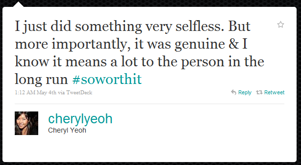 cheryl yeoh The 50 Funniest Humble Brags on Twitter