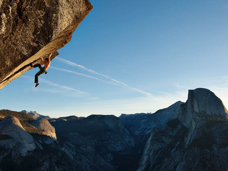 dean potter free climber yosemite glacier point heaven Picture of the Day: Free as a Bird