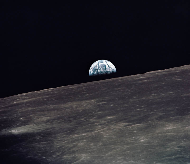 earth rising above lunar horizon apollo 10 This Day In History   May 18th