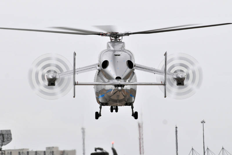 eurocopter x3 propellers on wings 1 The Battle for High Speed Helicopter Supremacy