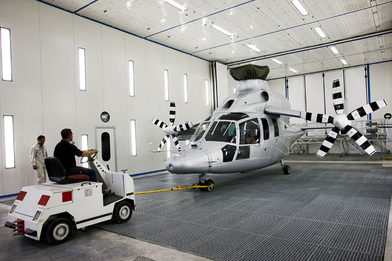 eurocopter x3 propellers on wings 2 The Battle for High Speed Helicopter Supremacy