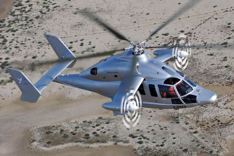 eurocopter x3 propellers on wings 5 The Battle for High Speed Helicopter Supremacy