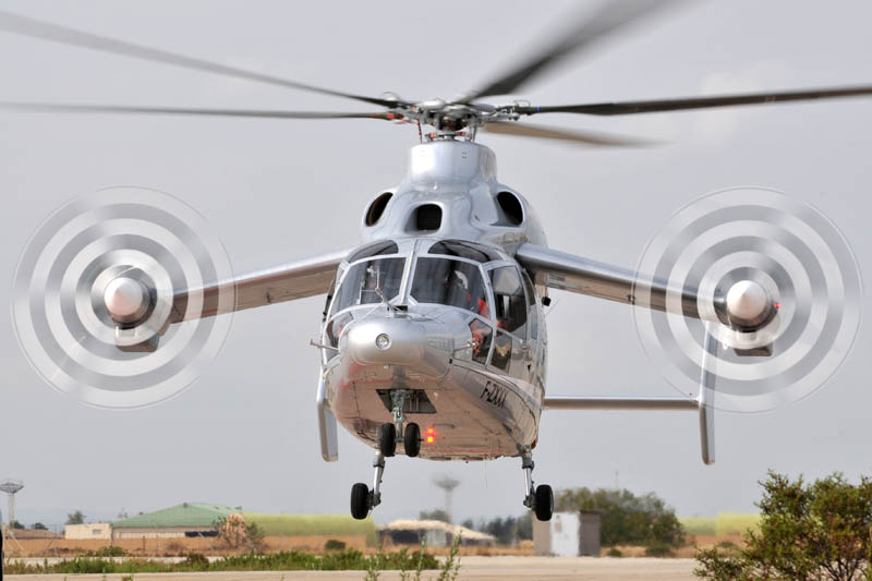 eurocopter x3 propellers on wings 9 The Battle for High Speed Helicopter Supremacy