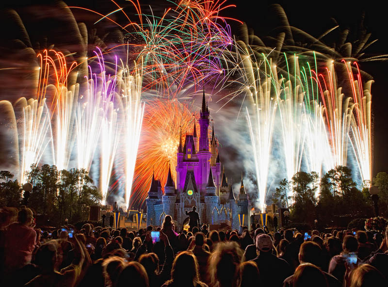fireworks friday magic kingdom Picture of the Day: Lights, Camera, Action at the Magic Kingdom