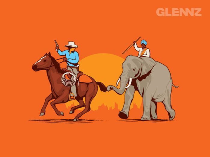 funny and hilarious illustrations by glennz 4 35 Hilarious Illustrations by Glennz