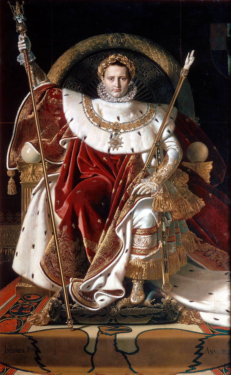 ingres napoleon on his imperial throne This Day In History   May 18th