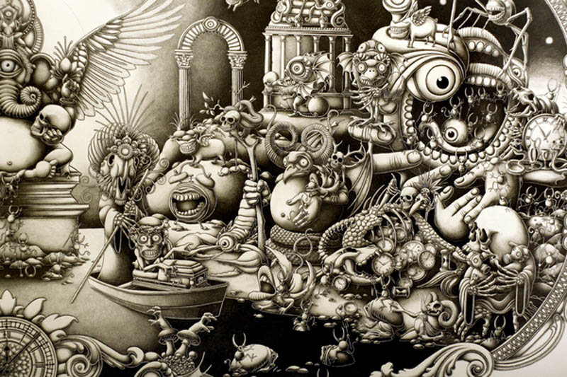 joe fenton artist large drawing 1 Astonishing 8 ft x 5 ft Drawing by Joe Fenton [15 pics]