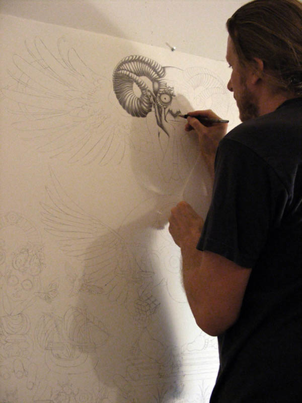 joe fenton artist large drawing 15 Astonishing 8 ft x 5 ft Drawing by Joe Fenton [15 pics]