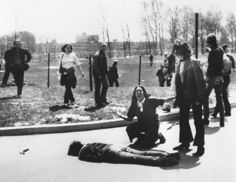 kent state shootings massacre pulitzer prize winning photo john paul filo This Day In History   May 4th