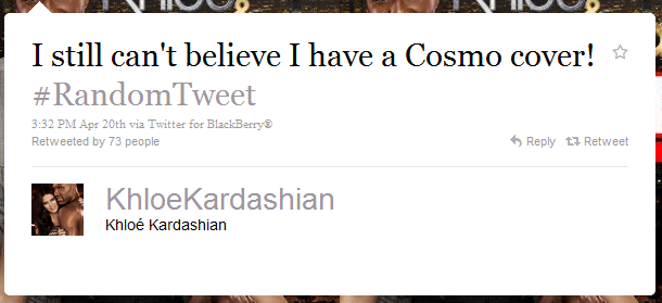 khloe kardashian The 50 Funniest Humble Brags on Twitter