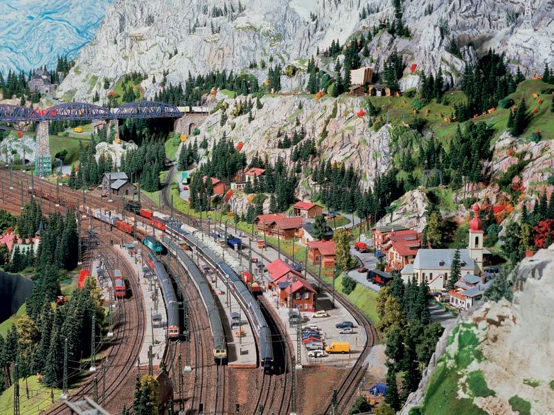 miniatur wunderland miniature wonderland 8 Miniatur Wunderland: Worlds Largest Model Railway
