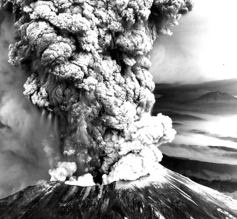 mt st helens volcano eruption This Day In History   May 18th