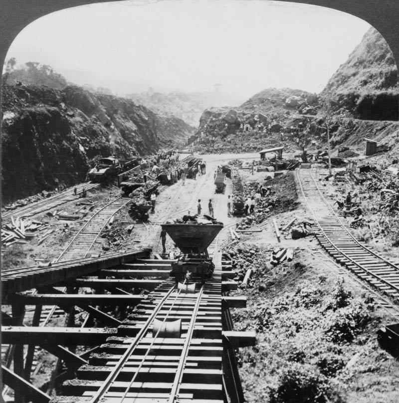 panama canal under construction 1907 This Day In History   May 4th
