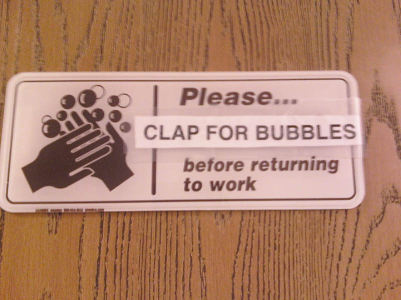 please clap for bubbles The Friday Shirk Report   Volume 108