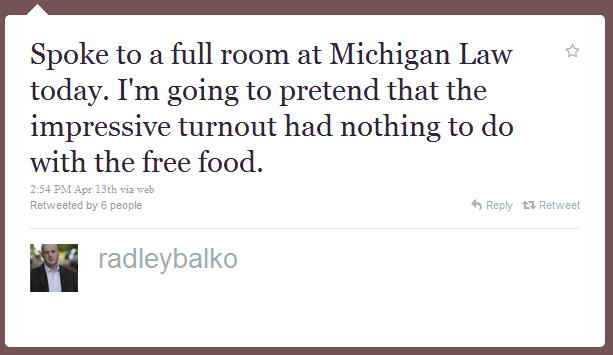 radley balko humblebrag The 50 Funniest Humble Brags on Twitter