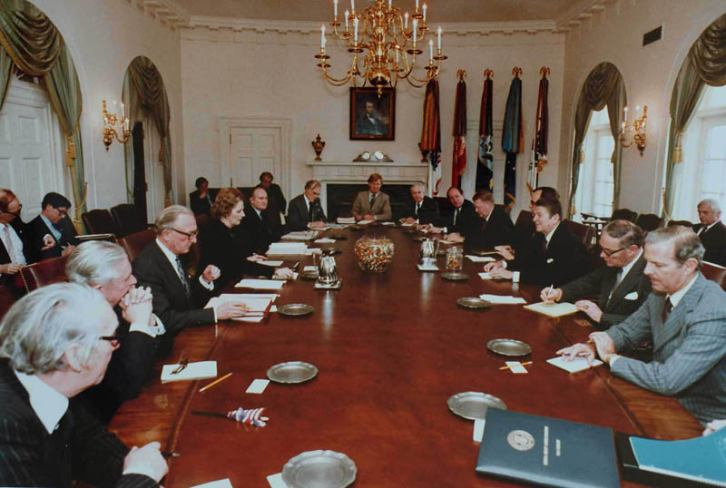 reagan thatcher cabinet talks This Day In History   May 4th