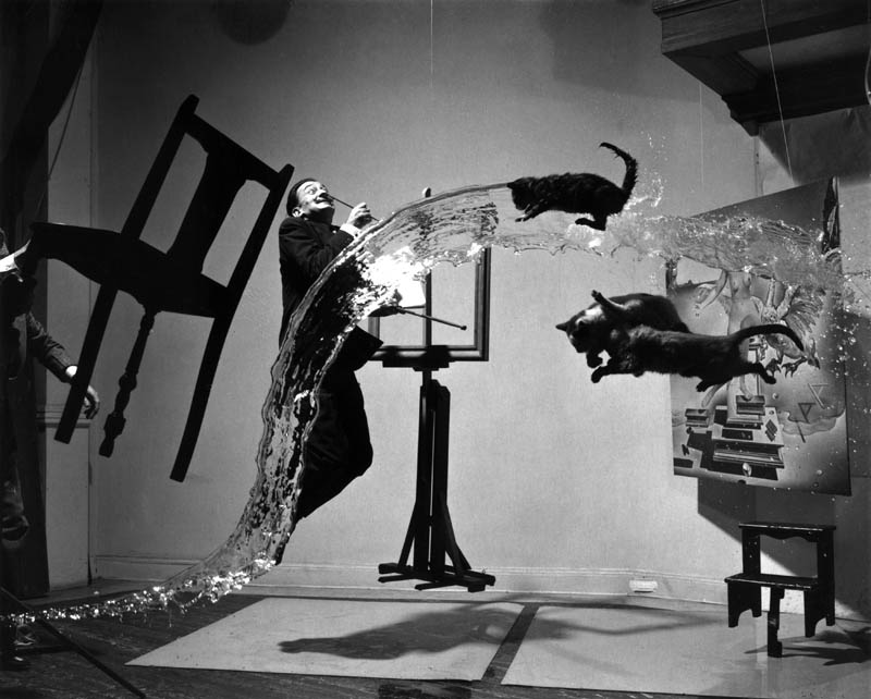 salvador dal suspended mid air with cats dali atomicus This Day In History   May 11th