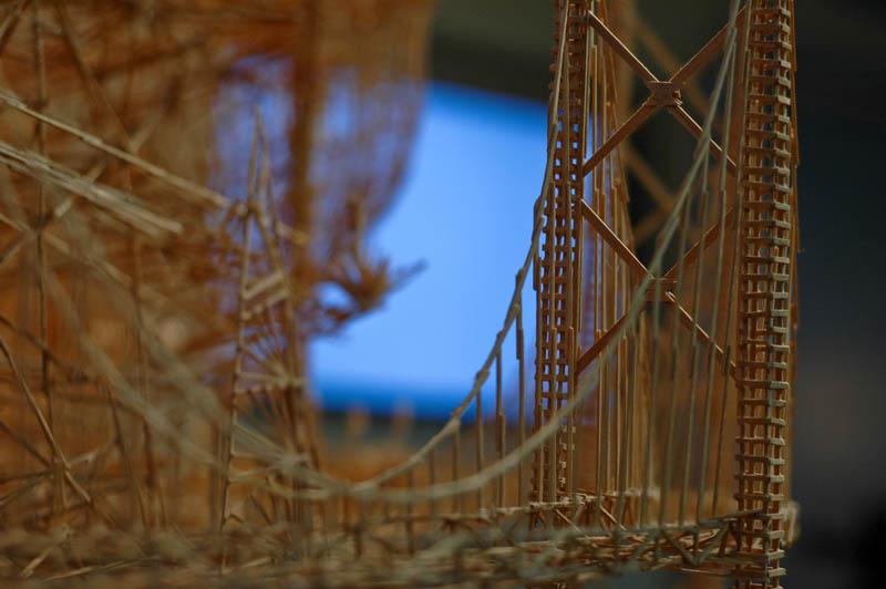 san francisco toothpicks scott weaver rolling through the bay 19 Kinetic San Francisco by Scott Weaver: 35 Years & 100,000 Toothpicks