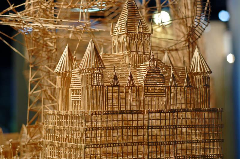 san francisco toothpicks scott weaver rolling through the bay 7 Kinetic San Francisco by Scott Weaver: 35 Years & 100,000 Toothpicks