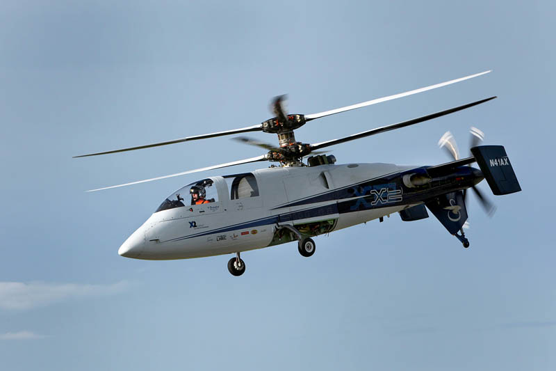 sikorsky x2 worlds fastest helicopter 8 The Battle for High Speed Helicopter Supremacy
